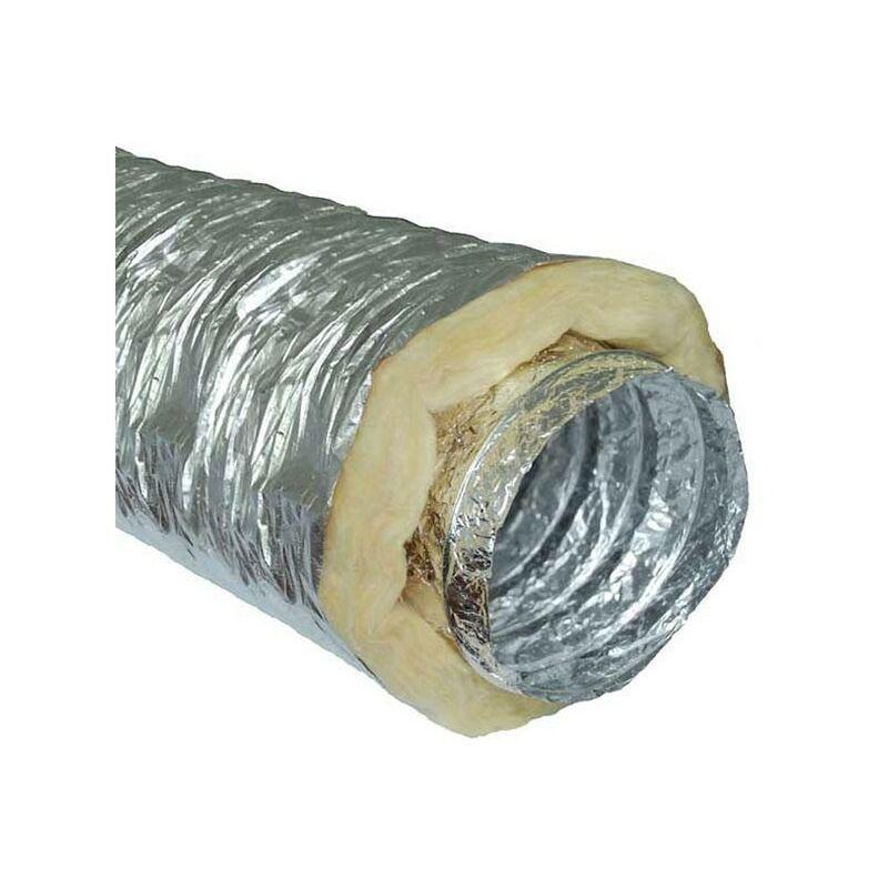 Winflex Ventilation - Gaine sono insonorisé (phonique) 100mm x 10m conduit de