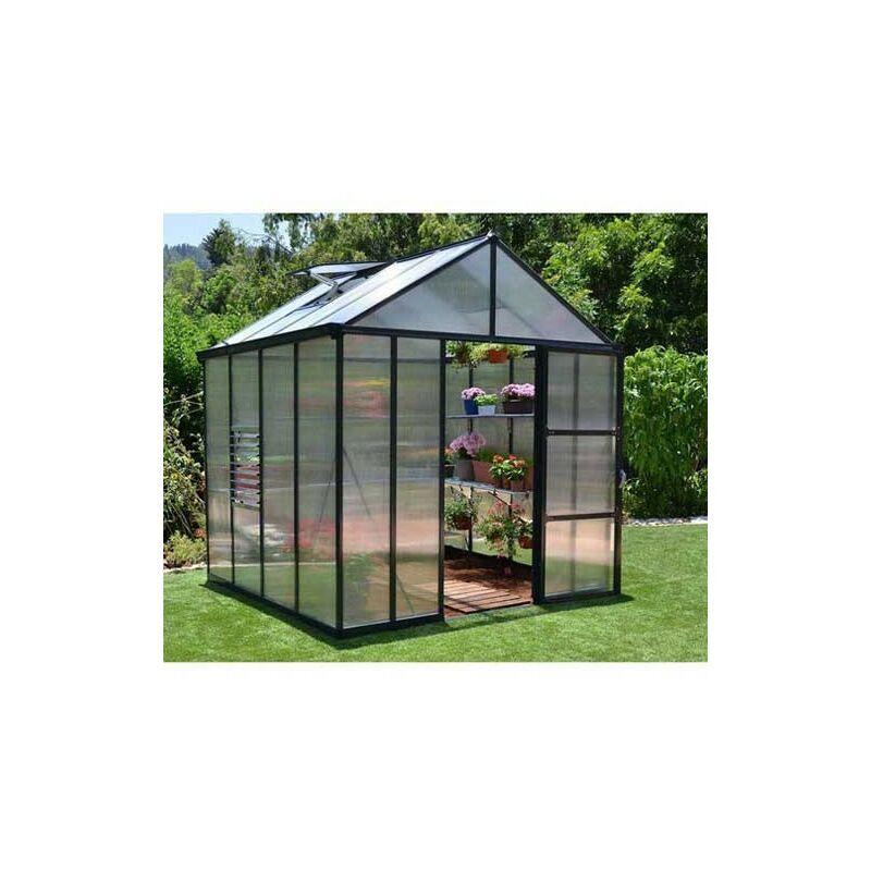 PALRAM Serre de jardin en polycarbonate Glory 4,3 m²