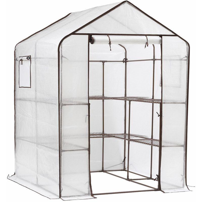 Sekey Serre de Jardin pour tomates, Plante Serre Tente d'extérieur, Serres en