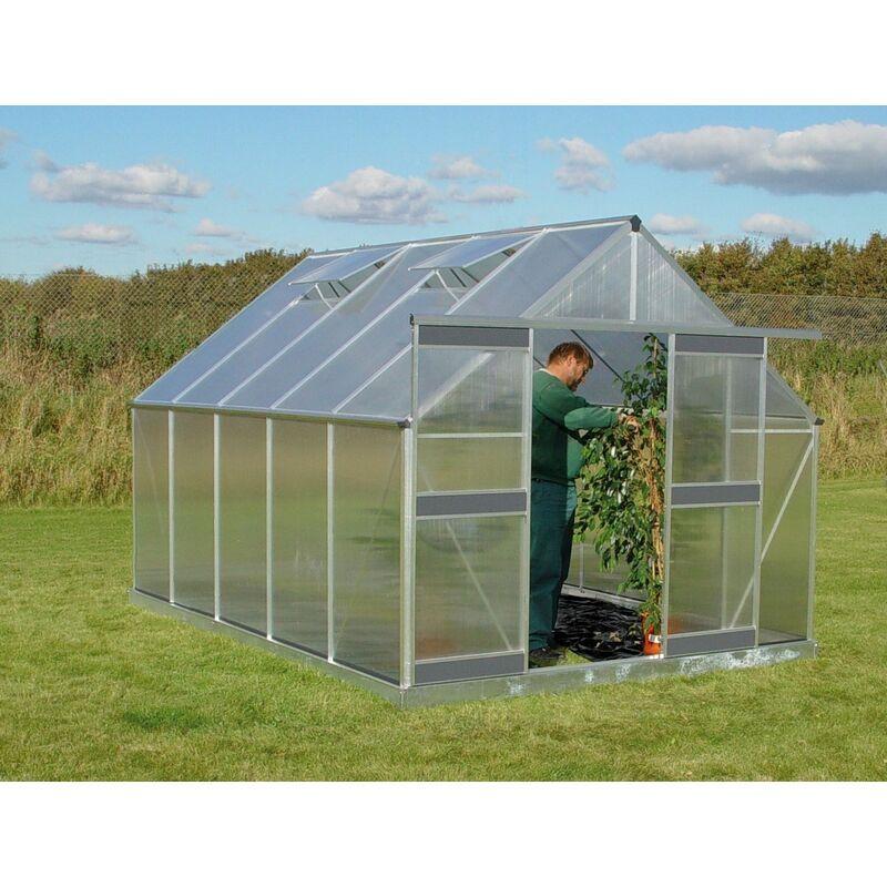 ACD - Serre en polycabornate Basic 980 10,26 m²