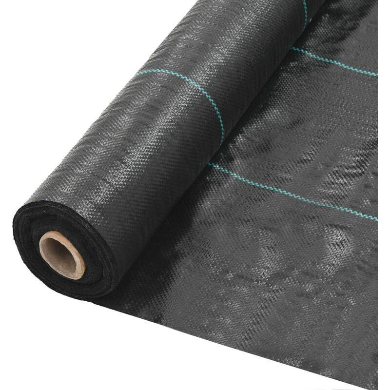 Youthup - Toile de paillage PP 2 x 100 m Noir