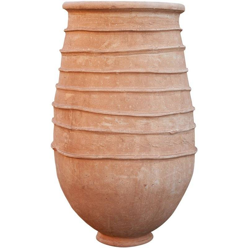 BISCOTTINI Vase en terre cuite du désert du Sahara