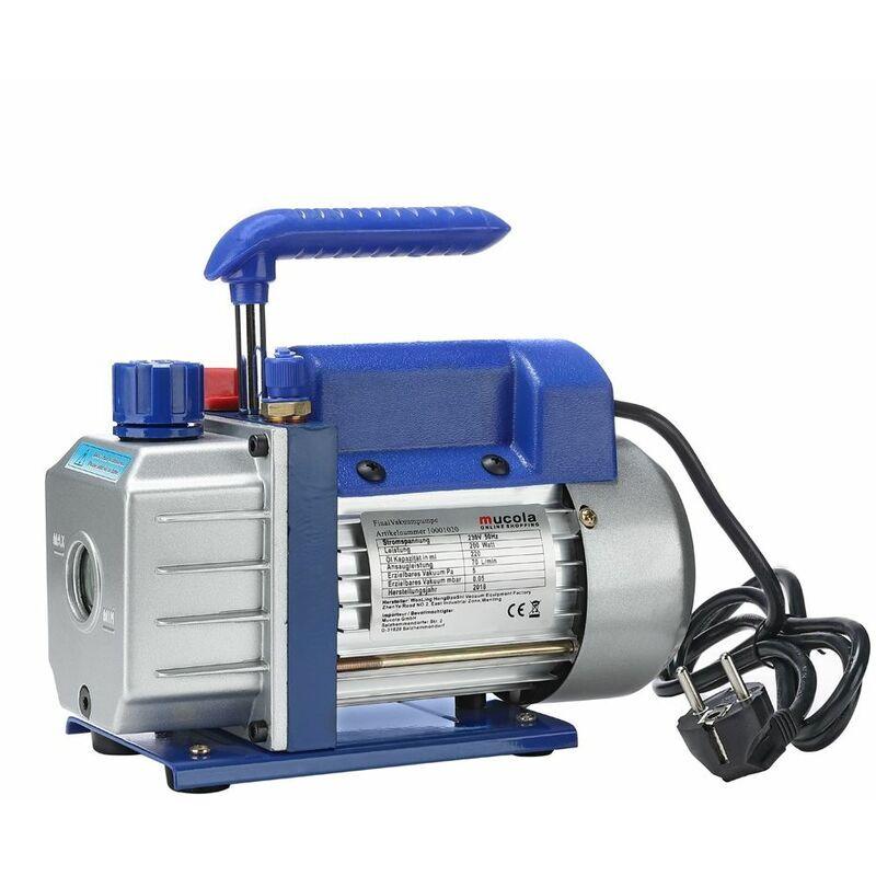 MUCOLA pompe à vide 50 l/min compresseur climatisation boîtier en aluminium Poignée