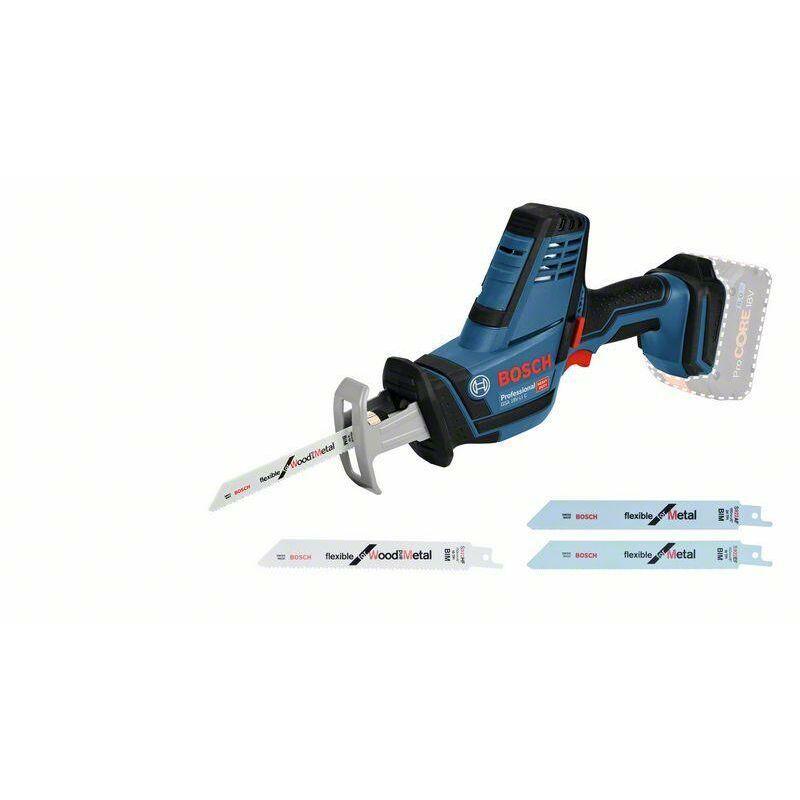 Bosch Professional Scie sabre sans fil GSA 18 V-LI C (sans batterie ni