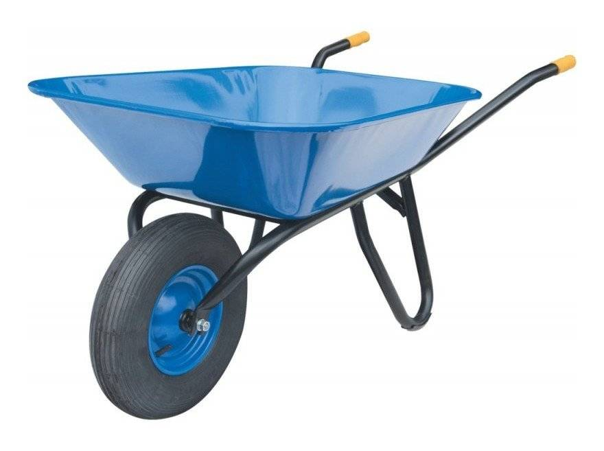 MüBA Brouette Fagro F 85 roue gonflable 400x100 - 85 litres