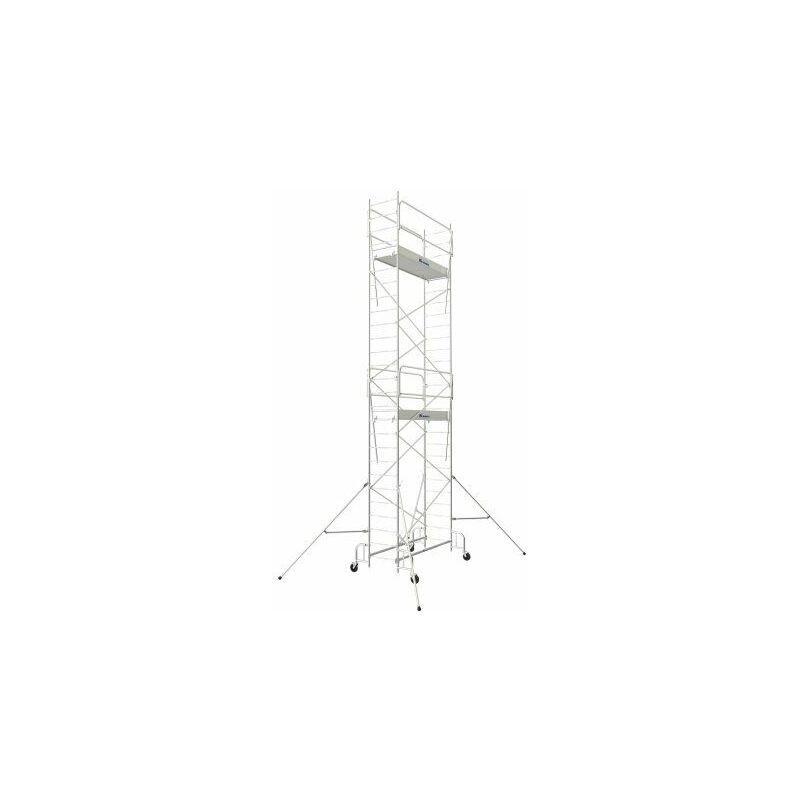 TUBESCA COMABI Echafaudage roulant Junior 200 5m80 plancher