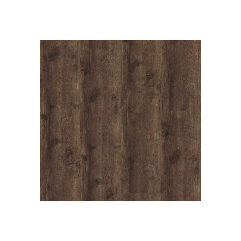 DÉCOWEB Lame sol PVC Clipsable - Parquet Chêne brun foncé (Oak 24870)