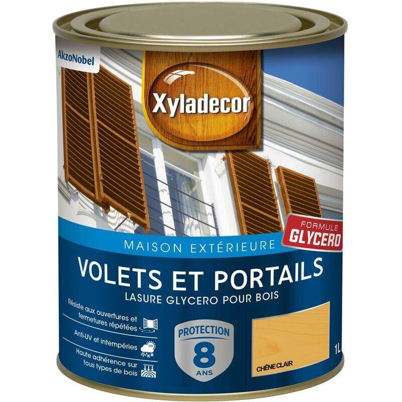Xyladecor - Lasure protectrice glycéro pour bois extérieur - Volets et Portails