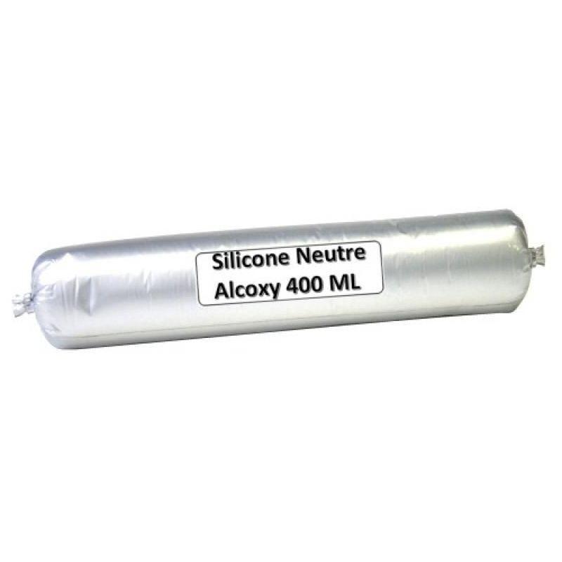 Ayrton - Mastic menuiserie silicone neutre B 800/2 coloris blanc carton de 25