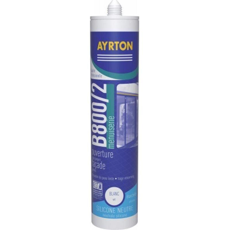 Ayrton - Mastic menuiserie silicone neutre B 800/2 coloris pierre cartouche de