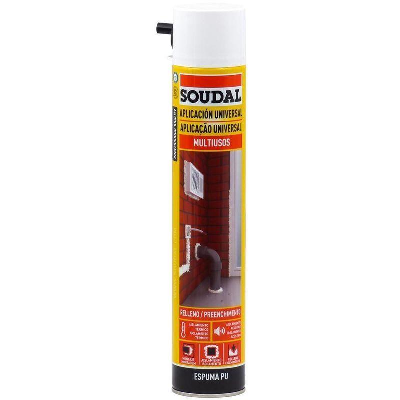SOUDAL MOUSSE CANULA POLYURETHANE 750 ML - Soudal