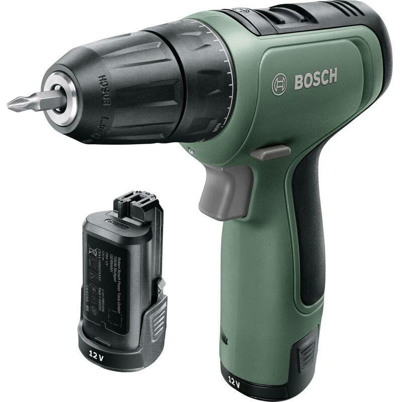 BOSCH HOME AND GARDEN Perceuse-visseuse sans-fil EasyDrill 1200 - 12V - Bosch - Vert et noir