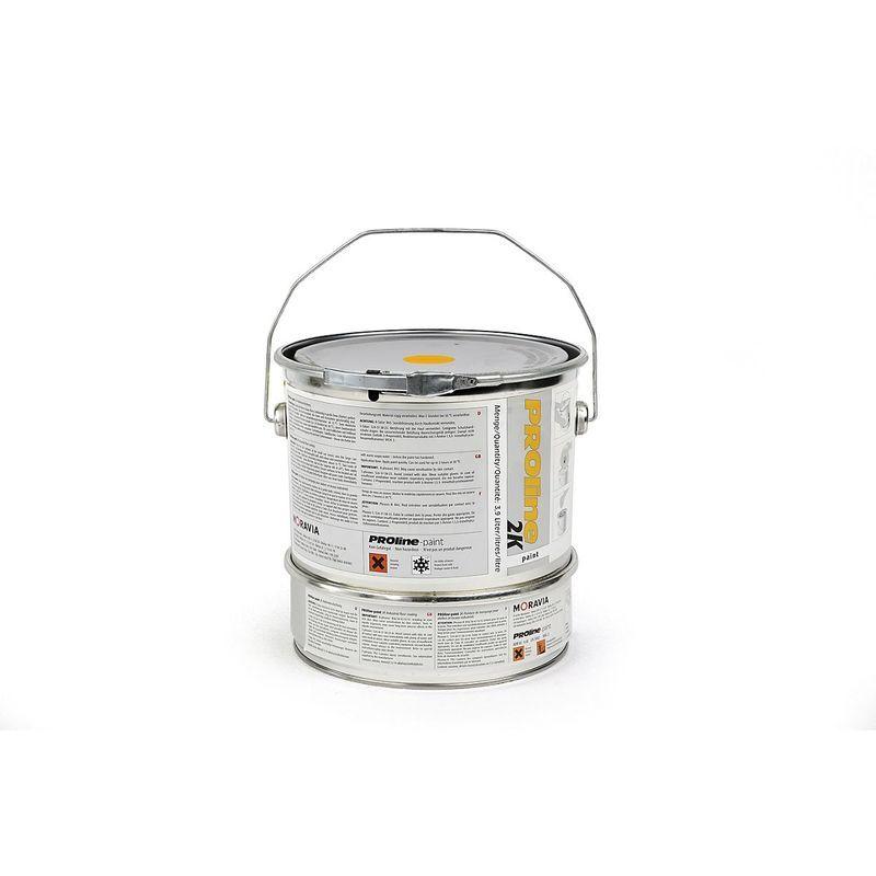 Certeo - Revêtement d'entrepôt 2K - bidon de 5 l - jaune - Coloris aérosol de