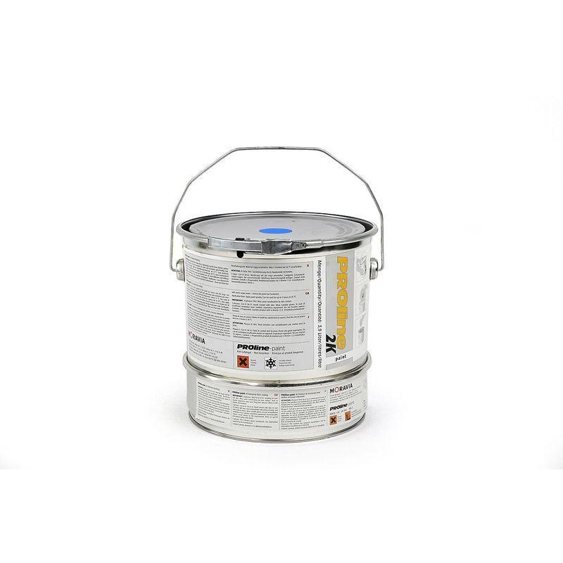 CERTEO Revêtement d'entrepôt 2K - bidon de 5 l - bleu - Coloris aérosol de peinture: