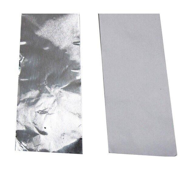 MCCOVER Ruban adhésif plein en aluminium L 5 ml - Coloris - Aluminium, Epaisseur - 32
