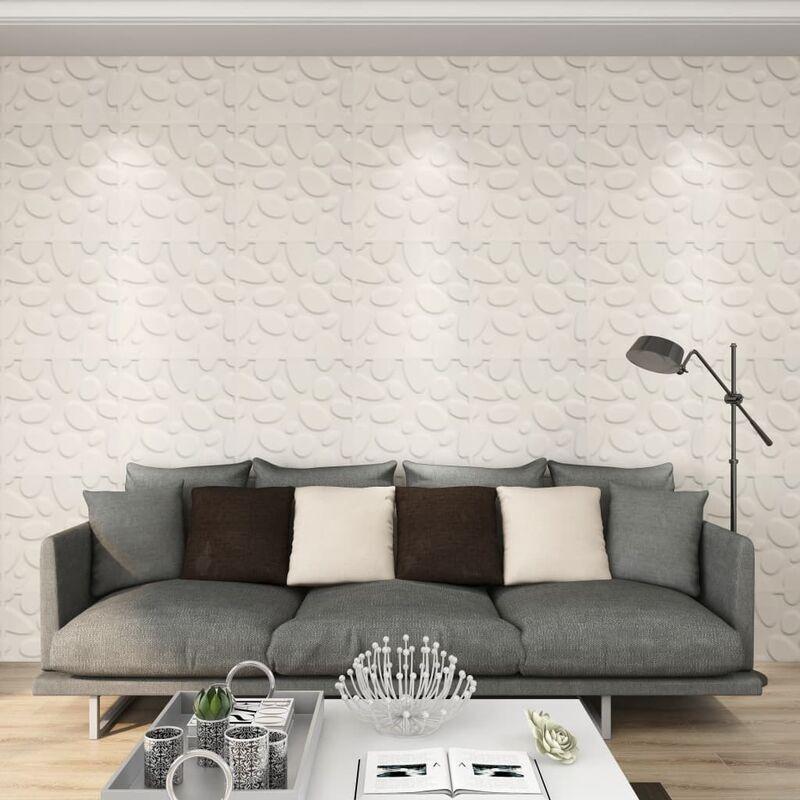 TRUE DEAL Panneaux muraux 3D 24 pcs 0,5x0,5 m 6 m² - True Deal