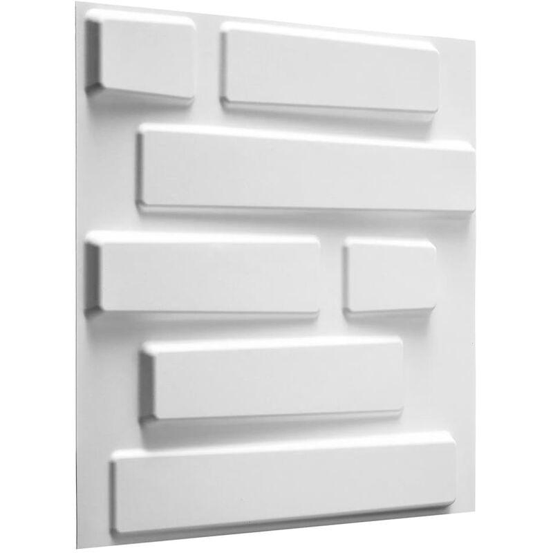 TRUE DEAL WallArt 24 pcs Panneaux muraux 3D GA-WA02 Briques