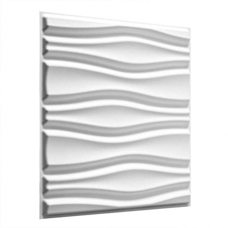 TRUE DEAL WallArt 24 pcs Panneaux muraux 3D GA-WA14 Courants