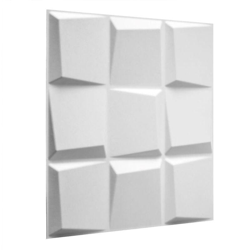 TRUE DEAL WallArt 24 pcs Panneaux muraux 3D GA-WA21 Oberon