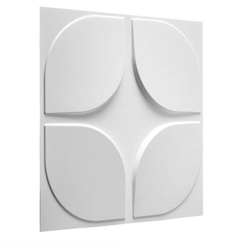 TRUE DEAL WallArt Panneaux muraux 3D Sweeps 12 pcs GA-WA06