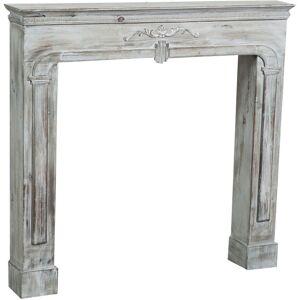 BISCOTTINI Cadre décoratif cheminée à bois design pièce miteuse décoration intérieure - Publicité