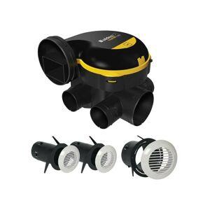 ALDES Kit VMC simple flux auto-réglable EasyHOME® AUTO - Aldes - Publicité