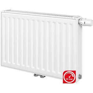 FINIMETAL Radiateur panneau Acier T6 3010 21VM - Finimetal - 600x800mm - 1086W - Blanc - Publicité