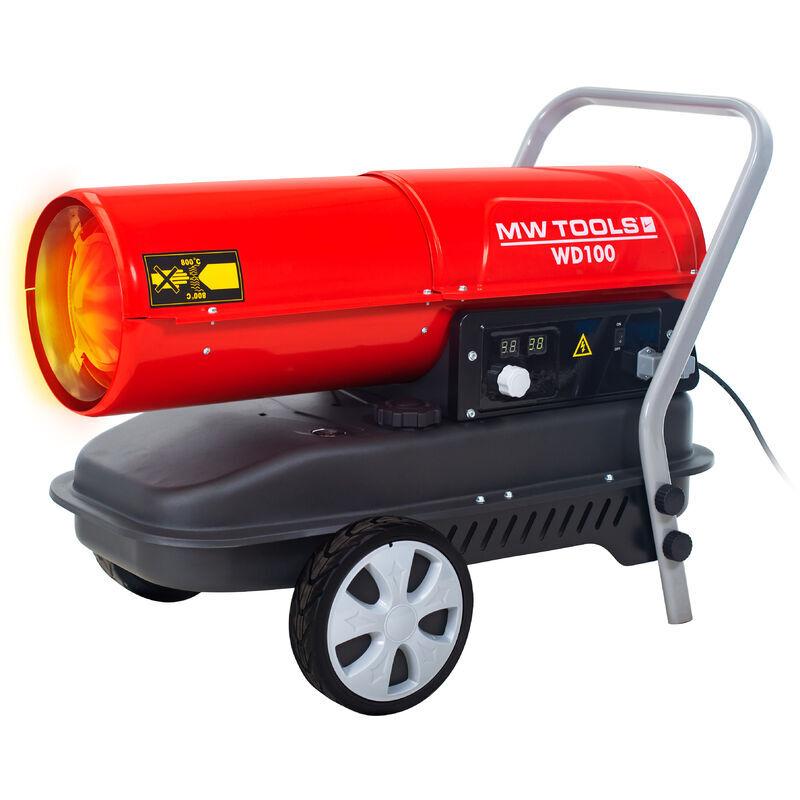 MW-TOOLS Canon à chaleur fioul 30 kW WD100 - Mw-tools