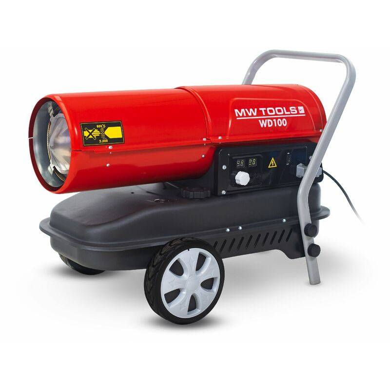MW-TOOLS Canon à chaleur fioul 30 kW MW-Tools WD100