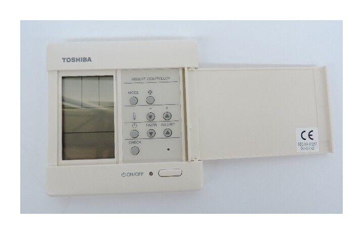 TOSHIBA CLIMATISATION Commande filaire pour unité intérieur gainable climatisation M-GDV-E Toshiba