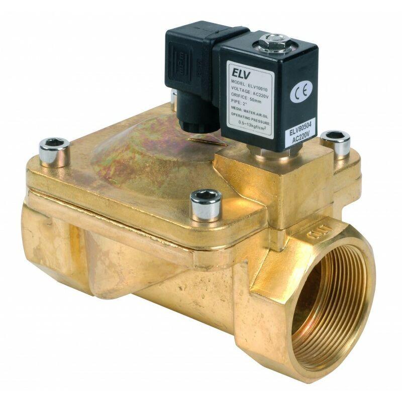 ELV Electrovanne bronze 2'' NF action indirecte