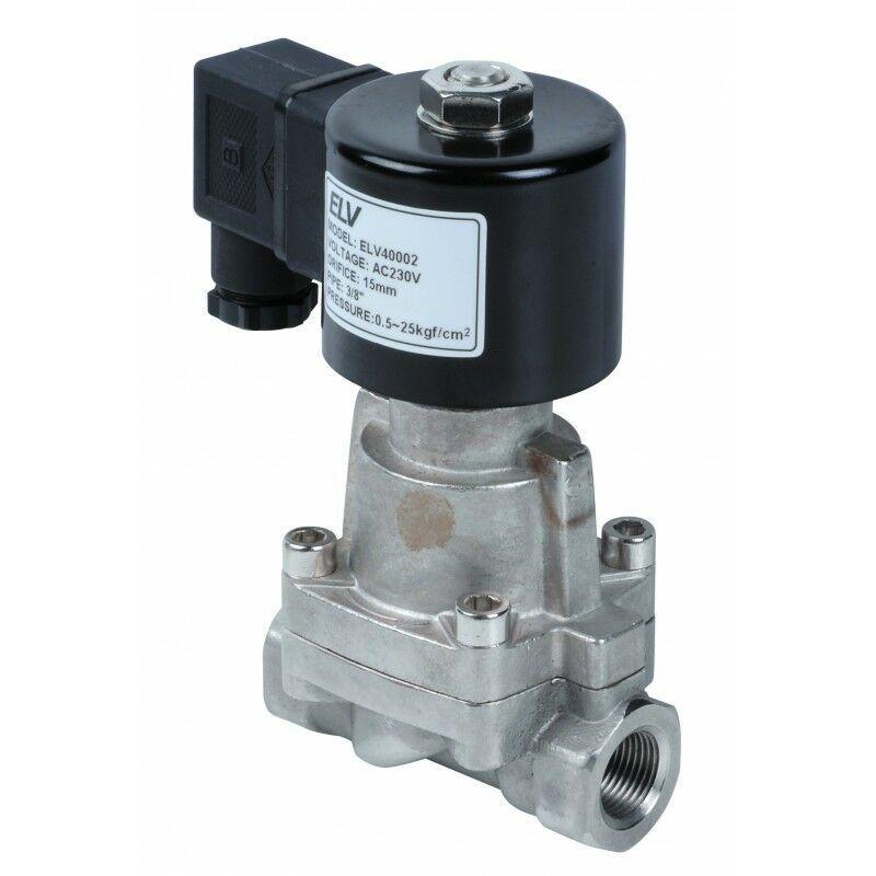 ELV Electrovanne inox vapeur 3/4'' NF