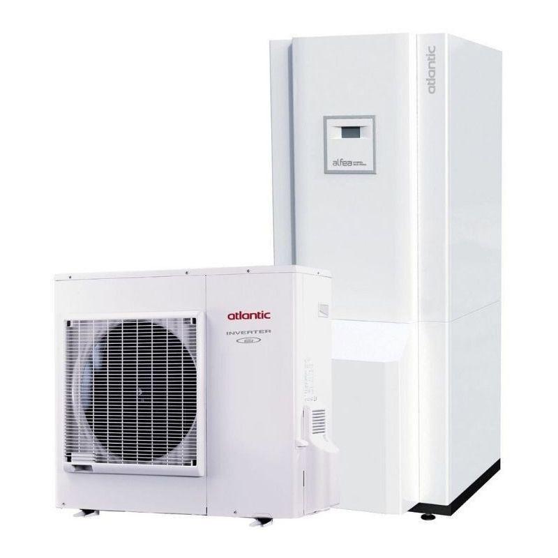 ATLANTIC THERMOR Hybrid Duo Fioul A.I. tri 14 400V ATLANTIC 14 Kw pompe à chaleur inverter A+