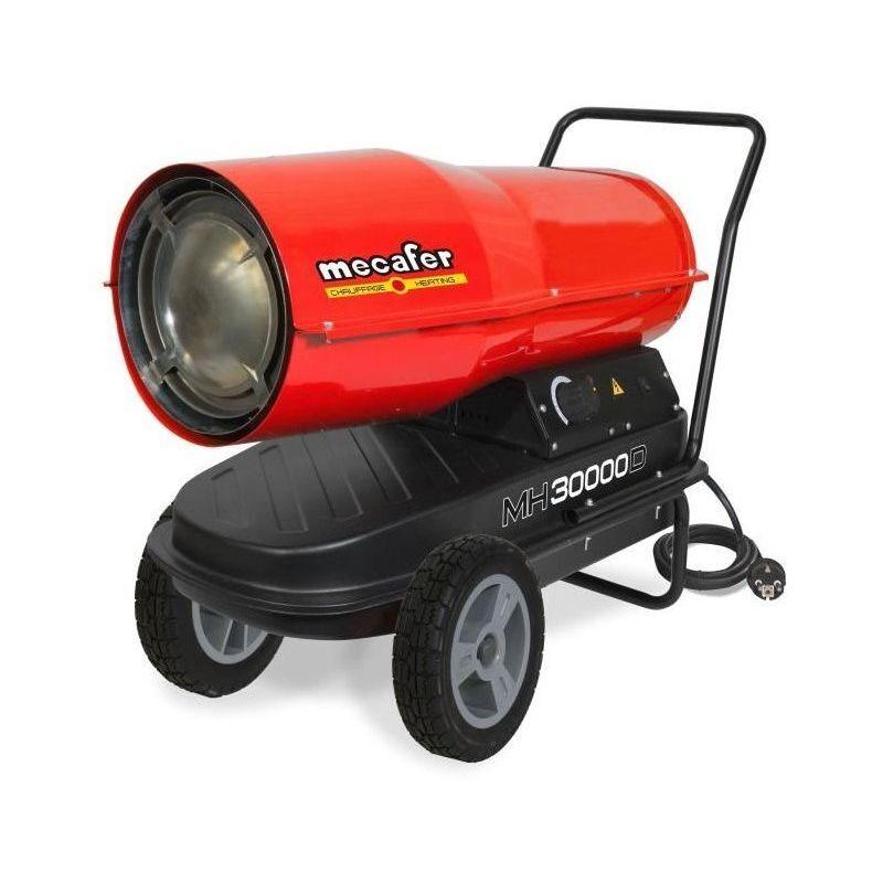 MECAFER Chauffage de chantier / Canon a air chaud Diesel / Fioul avec turbine