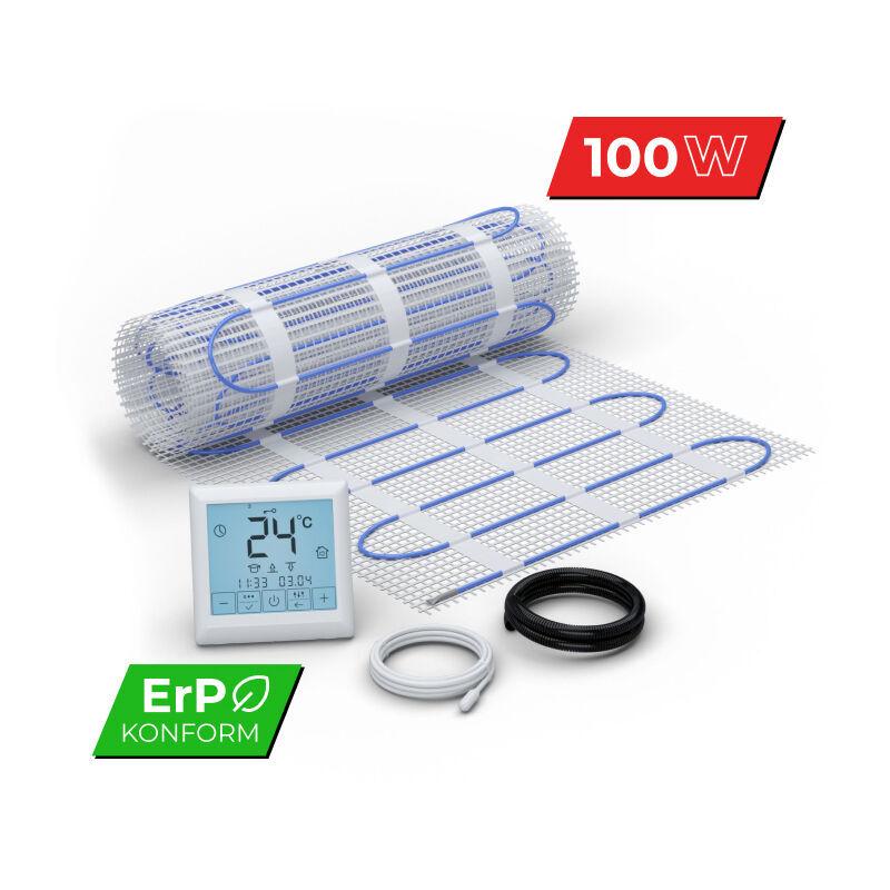 WARM-ON Kit Plancher chauffant électrique rayonnant pour carrelage 100 W/m² - Set