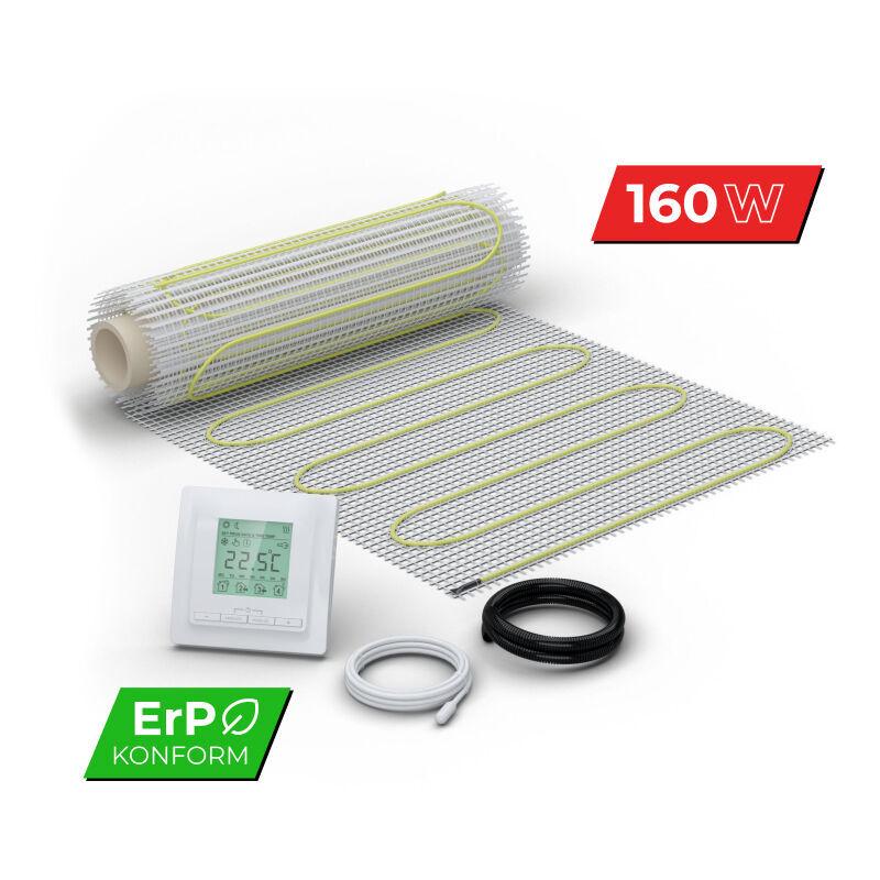 WARM-ON Kit Plancher chauffant électrique rayonnant pour carrelage 160 W/m² - Set