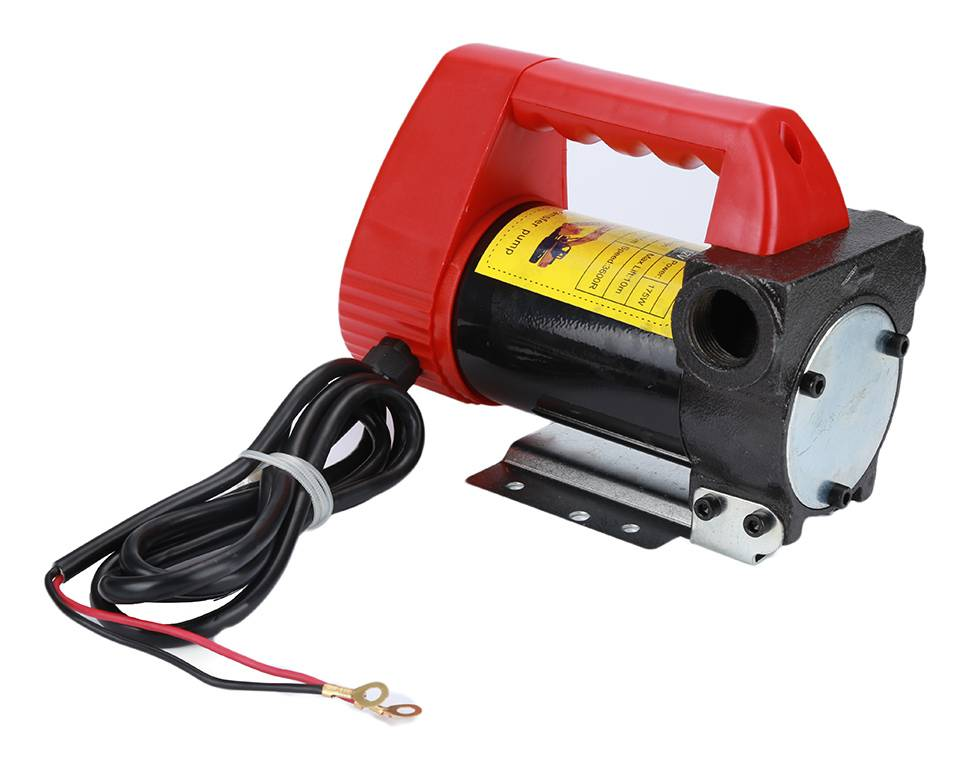 JEOBEST Pompe portable pompe à fioul et diesel 12V 175W