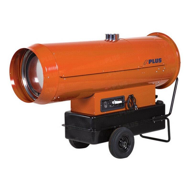 SPLUS Générateur d'air chaud fioul auto à cheminée 150 mm 110 kW - GF110.1AC - Splus