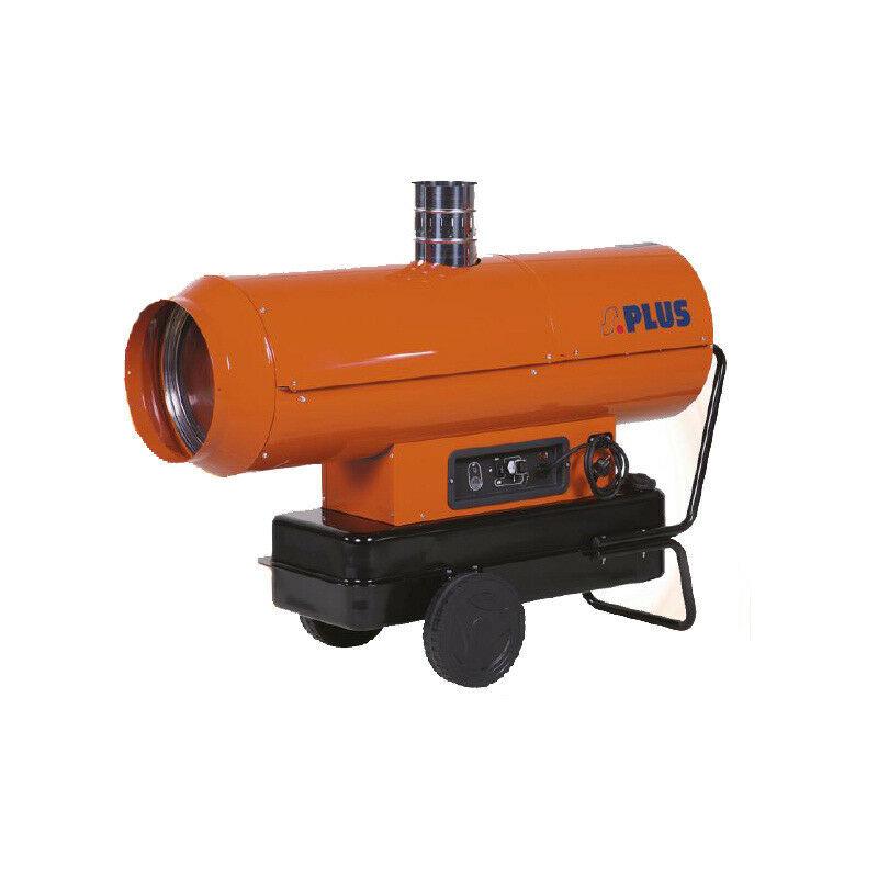 Splus - Générateur d'air chaud fioul auto à cheminée 58,6 kW 700 à 1400 m3