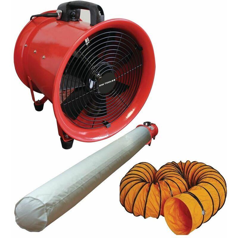 MW-TOOLS Ventilateur extracteur MV300 avec accessoires MW-Tools MV300SET