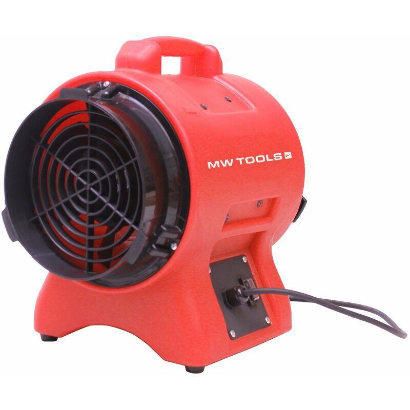 MW-TOOLS Ventilateur extracteur portable 200 mm - 250 W MW-Tools MV200PP