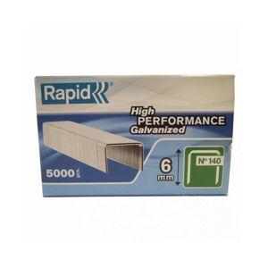 RAPID AGRAFES 140/06mm Galva Boite carton 5000 RAPID - Publicité