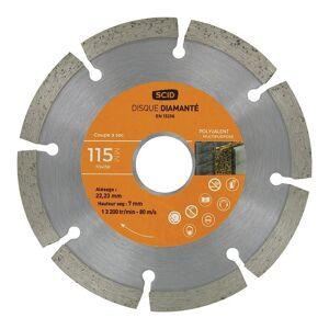 SCID Disque polyvalent bricolage Scid Diamètre (mm) 115 - Publicité
