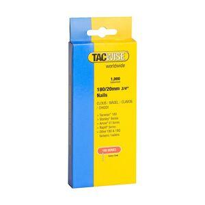TACWISE Boîte de 1000 clous en acier galvanisé en bande de type 180 L. 20 mm - TA-0360 - Publicité