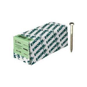 E-NORMPRO Vis a bois DIN 571acier inoxydable A2 8x80 HP (Par 100) - E-normpro - Publicité