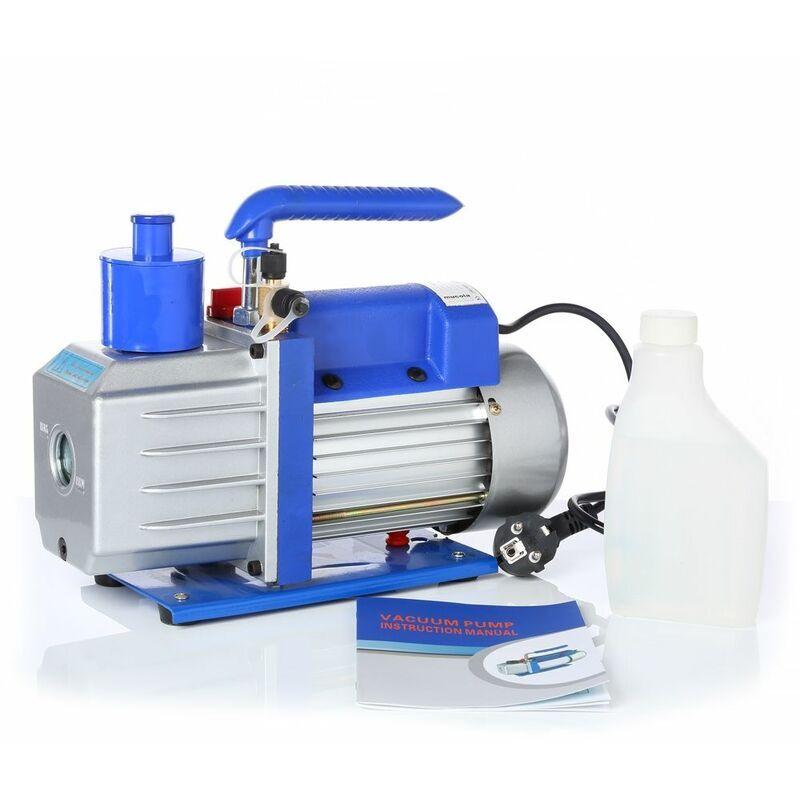 MUCOLA Pompe à vide 100L/min Boîtier en aluminium Compresseur à cadran industriel