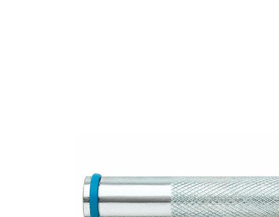 Index - 12 douilles à frapper femelle M10 x 80 mm (D. 14 mm) zingué pour
