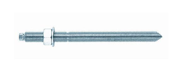 INDEX 6 tiges filetées avec rondelle et écrou M30 x 330 mm Inox A2 pour scellement