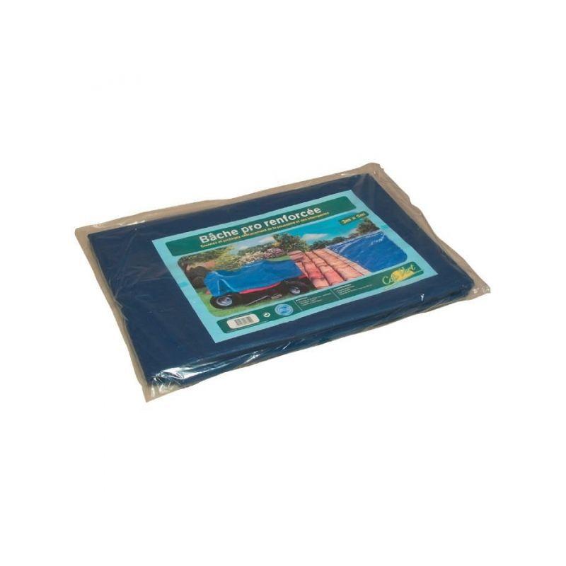 CAPVERT Bâche de protection pro Cap Vert - Dimensions 6 x 9 m