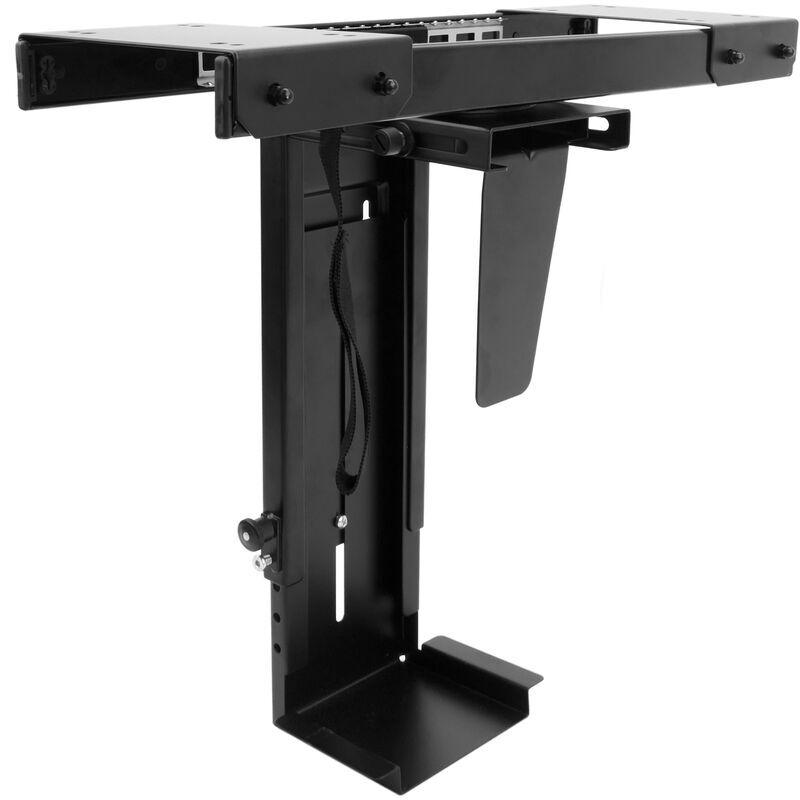 BEMATIK Soutien de boîte de ordinateur avec glissement sous la table réglable 88-203mm